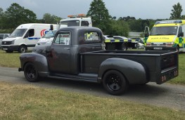 Cholmondeley Power and Speed 2016, Cheverolet F5.00, 1954