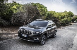 Jeep Cherokee, 2018, front