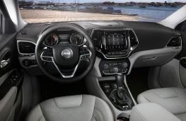 Jeep Cherokee, 2018, interior
