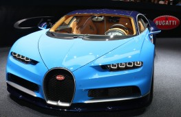 Bugatti Chiron, Geneva Motor Show 2016