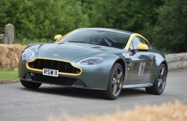 Cholmondeley Power and Speed 2016, Aston Martin Vanquish
