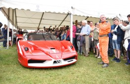Cholmondeley Power and Speed 2016, Ferrari FXX, static