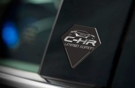 Toyota C-HR Limited Edition, 2017, badge