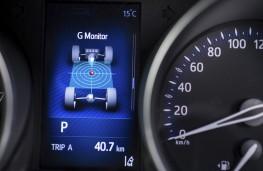Toyota C-HR, 2017, instruments