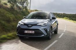 Toyota C-HR, 2019, front