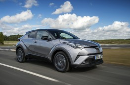 Toyota C-HR, 2017, front, action