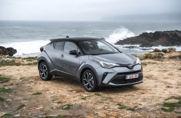 Toyota C-HR, 2017, front, static