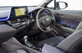 Toyota C-HR, 2017, interior