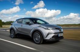 Toyota C-HR, 2017, action
