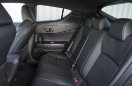 Toyota C-HR, rear seats