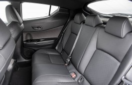 Toyota C-HR, 2019, rear seats