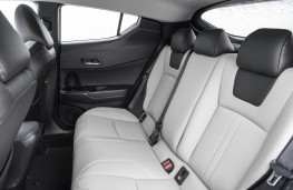 Toyota C-HR, 2019, rear seats