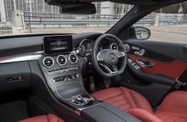 Mercedes-Benz C-Class, 2018, interior