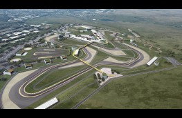 Circuit of Wales proposal, aerial image