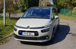 Citroen Grand C4 SpaceTourer, static