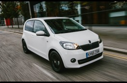Skoda Citigo, front, action