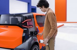Citroen Ami One Concept charging point