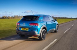 Citroen C4 Cactus, rear action