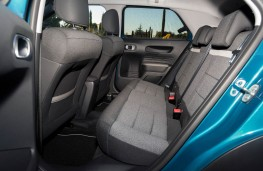 Citroen C4 Cactus, rear seats