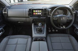 Citroen C5 Aircross, dashboard