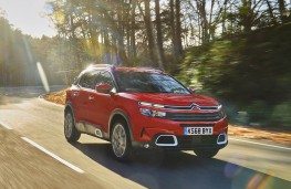 Citroen C5 Aircross, front action
