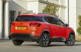Citroen C5 Aircross, rear static