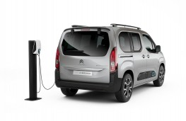 Citroen e-Berlingo, static rear