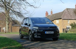 Citroen Grand C4 Space Tourer, front static 1