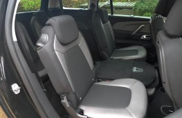 Citroen Grand C4 Space Tourer, rear seats