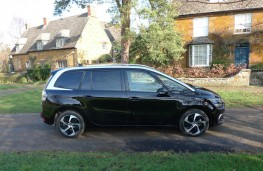 Citroen Grand C4 Space Tourer, side static