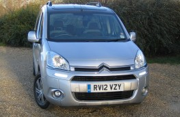 Citroen Berlingo Multispace, 12-plate, front