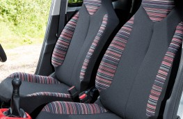 Citroen C1, striped seats