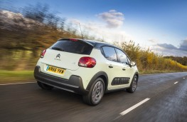 Citroen C3, rear action