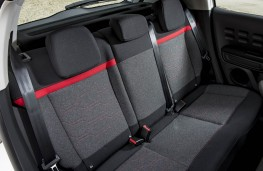 Citroen C3, rear seats