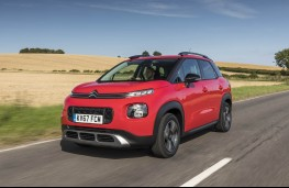 Citroen C3 Aircross, front action