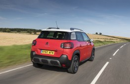 Citroen C3 Aircross, rear action
