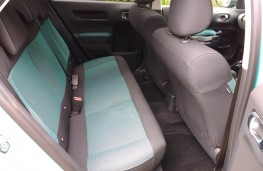 Citroen C4 Cactus, rear seats
