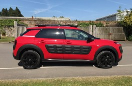 Citroen C4 Cactus, side