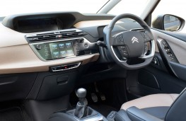 Citroen Grand C4 Picasso, dashboard