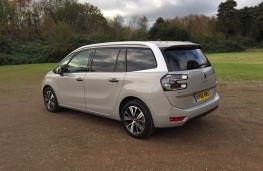 Citroen Grand C4 Picasso, rear