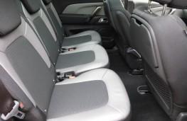 Citroen C4 Picasso, rear seats
