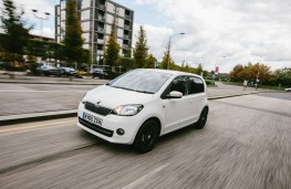Skoda Citigo, side, action