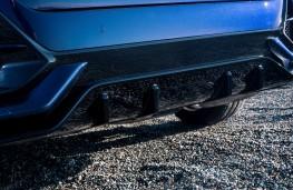 Honda Civic Sport Line, 2020, rear diffuser