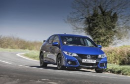 Honda Civic Type R, front, action