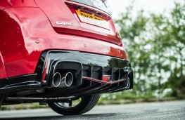 Honda Civic Type R, exhaust