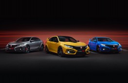 Honda Civic Type R line up, 2020