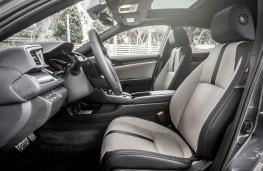 Honda Civic, 2017, interior, front