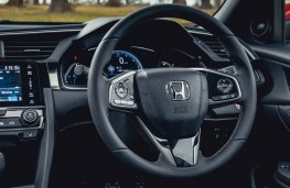 Honda Civic, 2017, interior