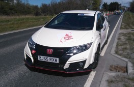 Honda Civic Type R GT, front, static, hill climb