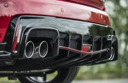Honda Civic Type R, diffuser